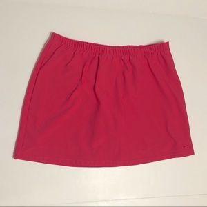 Nike Dri-fit Skirt Skort Pink Large Tennis